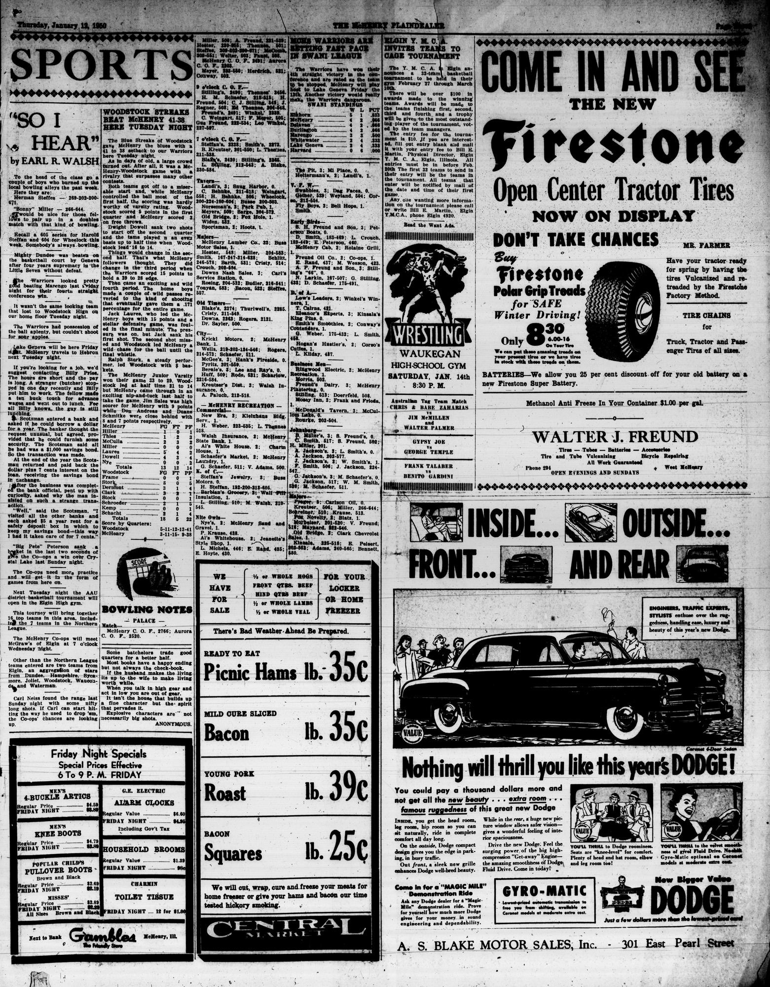 McHenry Plaindealer (McHenry, IL), 12 Jan 1950