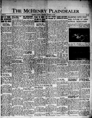 McHenry Plaindealer (McHenry, IL), 19 Jan 1950
