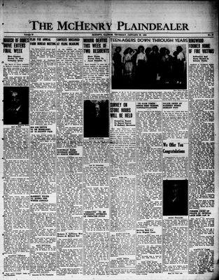 McHenry Plaindealer (McHenry, IL), 26 Jan 1950