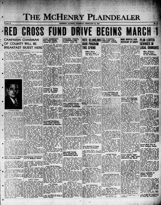 McHenry Plaindealer (McHenry, IL), 23 Feb 1950