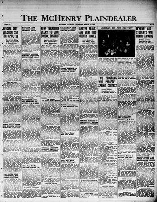 McHenry Plaindealer (McHenry, IL), 16 Mar 1950