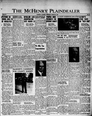 McHenry Plaindealer (McHenry, IL), 23 Mar 1950