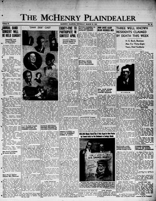 McHenry Plaindealer (McHenry, IL), 30 Mar 1950