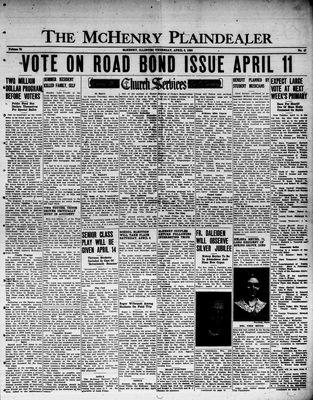 McHenry Plaindealer (McHenry, IL), 6 Apr 1950