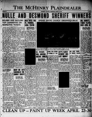 McHenry Plaindealer (McHenry, IL), 13 Apr 1950