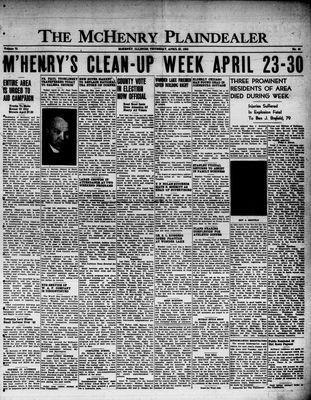 McHenry Plaindealer (McHenry, IL), 20 Apr 1950