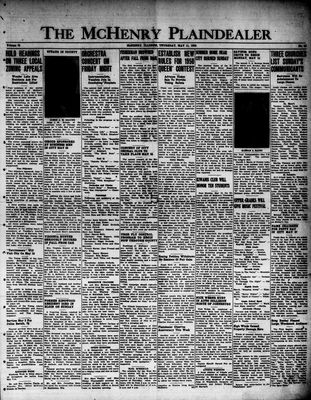McHenry Plaindealer (McHenry, IL), 11 May 1950