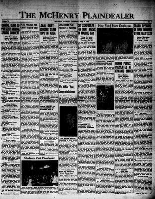 McHenry Plaindealer (McHenry, IL), 18 May 1950