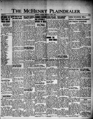 McHenry Plaindealer (McHenry, IL), 1 Jun 1950