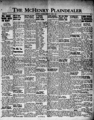 McHenry Plaindealer (McHenry, IL), 8 Jun 1950