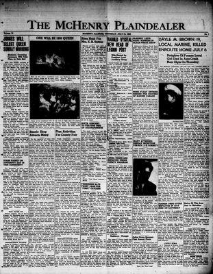 McHenry Plaindealer (McHenry, IL), 13 Jul 1950