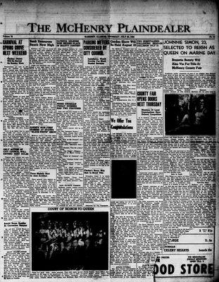 McHenry Plaindealer (McHenry, IL), 20 Jul 1950