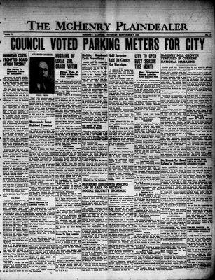 McHenry Plaindealer (McHenry, IL), 7 Sep 1950