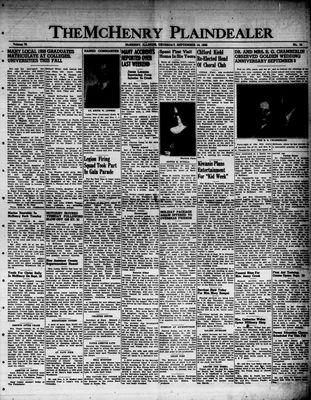 McHenry Plaindealer (McHenry, IL), 14 Sep 1950