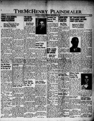 McHenry Plaindealer (McHenry, IL), 21 Sep 1950