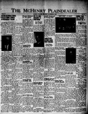 McHenry Plaindealer (McHenry, IL), 30 Nov 1950