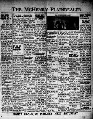 McHenry Plaindealer (McHenry, IL), 14 Dec 1950