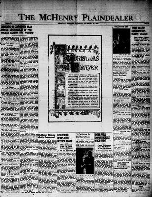 McHenry Plaindealer (McHenry, IL), 21 Dec 1950
