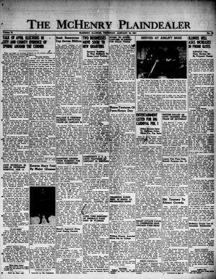 McHenry Plaindealer (McHenry, IL), 18 Jan 1951