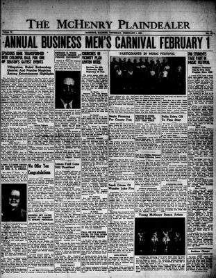 McHenry Plaindealer (McHenry, IL), 1 Feb 1951