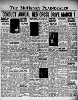McHenry Plaindealer (McHenry, IL), 22 Feb 1951