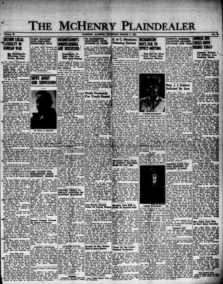 McHenry Plaindealer (McHenry, IL), 1 Mar 1951