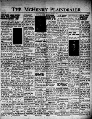 McHenry Plaindealer (McHenry, IL), 15 Mar 1951