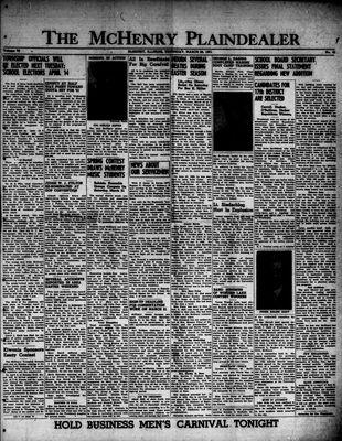 McHenry Plaindealer (McHenry, IL), 29 Mar 1951