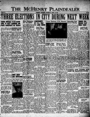 McHenry Plaindealer (McHenry, IL), 12 Apr 1951