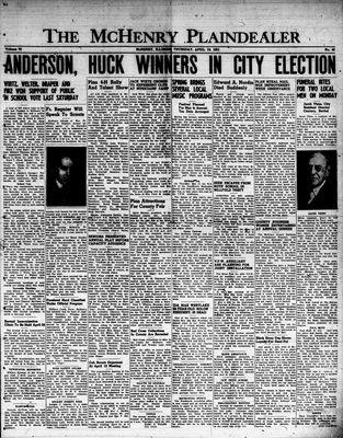 McHenry Plaindealer (McHenry, IL), 19 Apr 1951