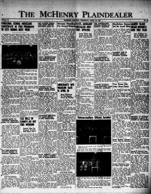 McHenry Plaindealer (McHenry, IL), 26 Apr 1951