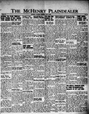 McHenry Plaindealer (McHenry, IL), 10 May 1951