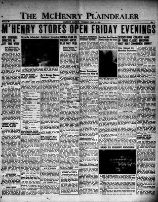 McHenry Plaindealer (McHenry, IL), 17 May 1951