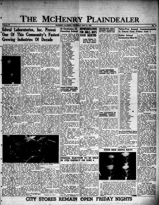 McHenry Plaindealer (McHenry, IL), 31 May 1951