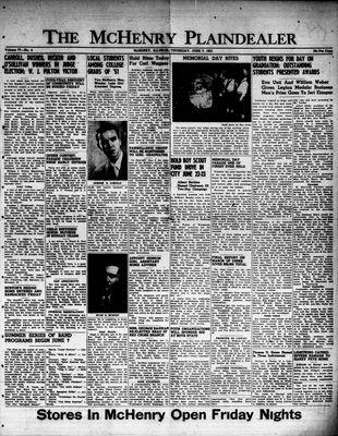 McHenry Plaindealer (McHenry, IL), 7 Jun 1951