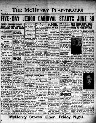 McHenry Plaindealer (McHenry, IL), 28 Jun 1951
