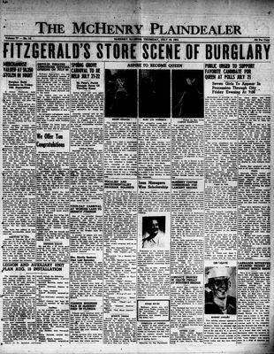 McHenry Plaindealer (McHenry, IL), 19 Jul 1951