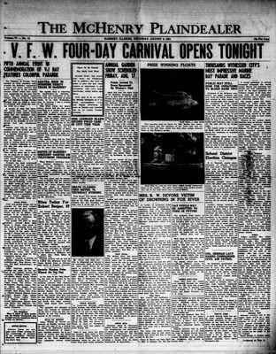 McHenry Plaindealer (McHenry, IL), 9 Aug 1951
