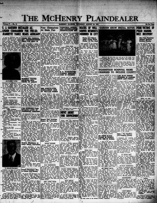 McHenry Plaindealer (McHenry, IL), 23 Aug 1951