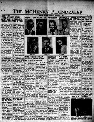McHenry Plaindealer (McHenry, IL), 6 Sep 1951