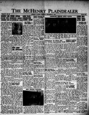 McHenry Plaindealer (McHenry, IL), 27 Sep 1951