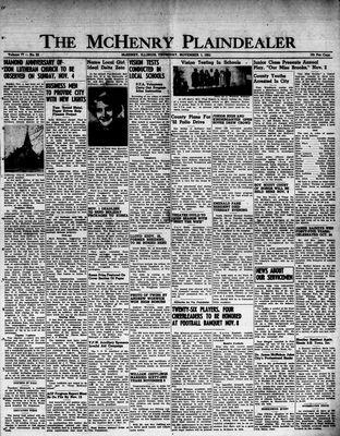 McHenry Plaindealer (McHenry, IL), 1 Nov 1951