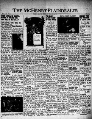 McHenry Plaindealer (McHenry, IL), 20 Dec 1951