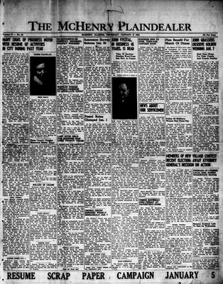 McHenry Plaindealer (McHenry, IL), 3 Jan 1952