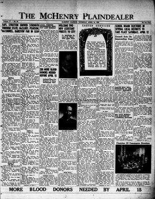 McHenry Plaindealer (McHenry, IL), 10 Apr 1952
