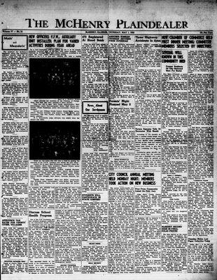 McHenry Plaindealer (McHenry, IL), 1 May 1952