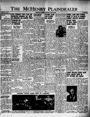 McHenry Plaindealer (McHenry, IL), 29 May 1952