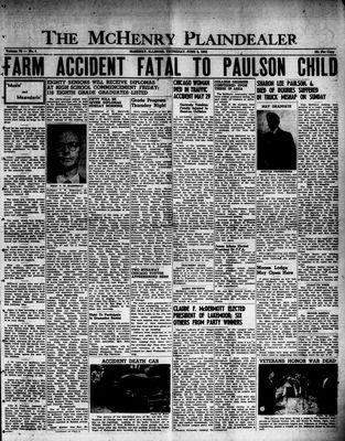 McHenry Plaindealer (McHenry, IL), 5 Jun 1952