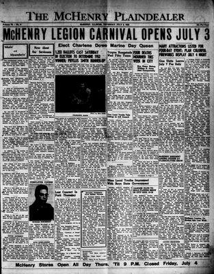 McHenry Plaindealer (McHenry, IL), 3 Jul 1952