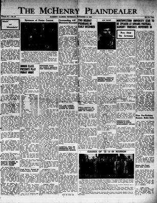 McHenry Plaindealer (McHenry, IL), 13 Nov 1952